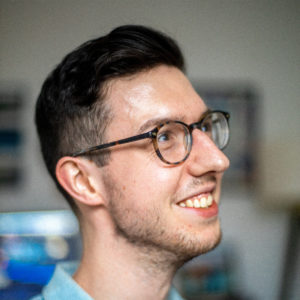 A portrait of Josh Kinney