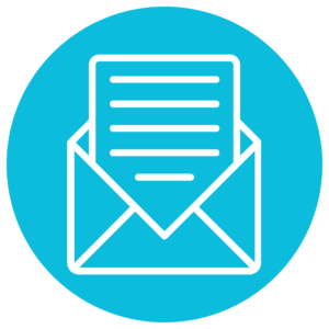 an icon of a newsletter